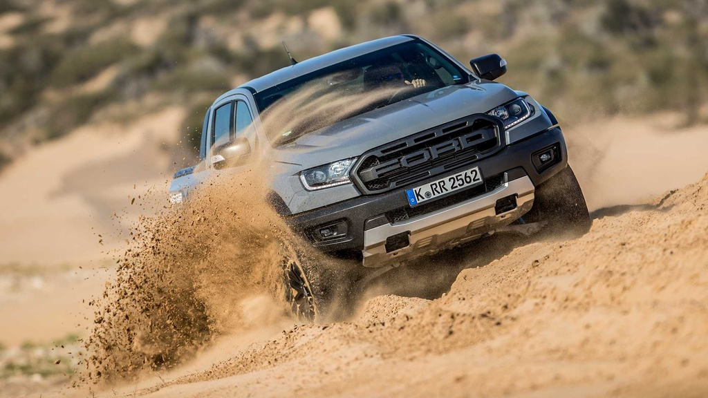 Ford Ranger Raptor V8 2021 co the manh 709 ma luc anh 9