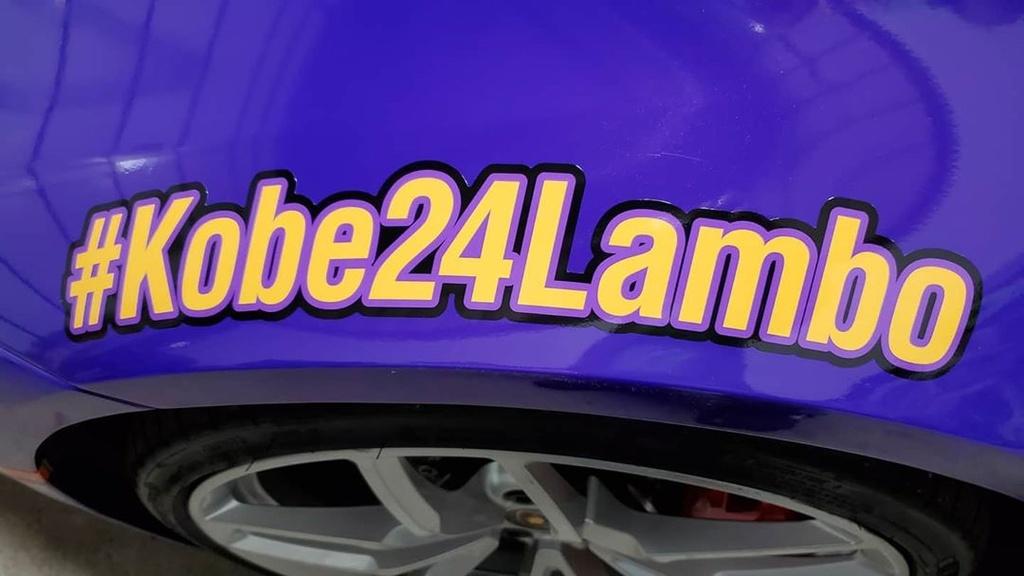 Lamborghini Huracan tuong niem Kobe Bryant anh 6