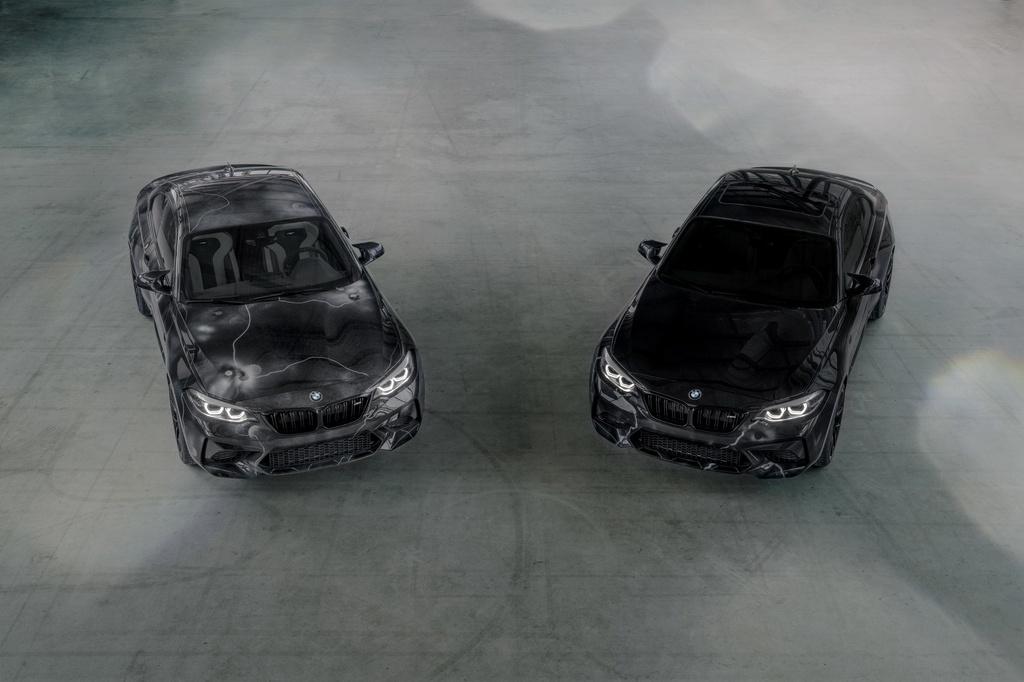 BMW ra mat M2 phien ban ve graffiti anh 1