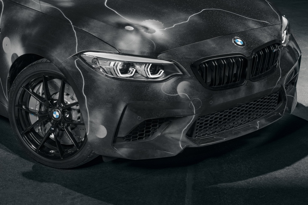 BMW ra mat M2 phien ban ve graffiti anh 4