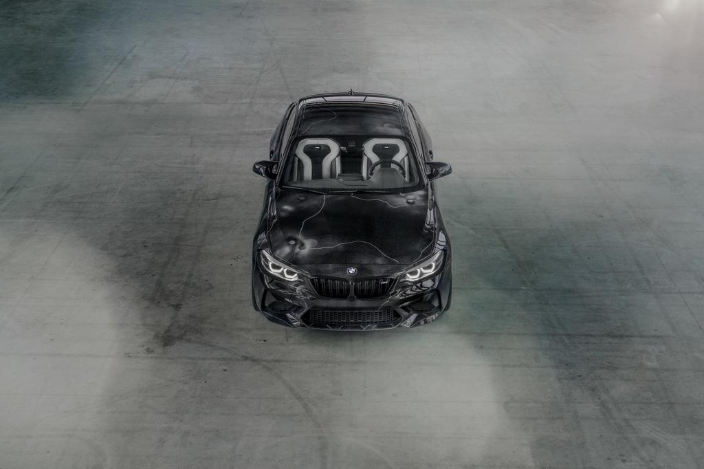 BMW ra mat M2 phien ban ve graffiti anh 10
