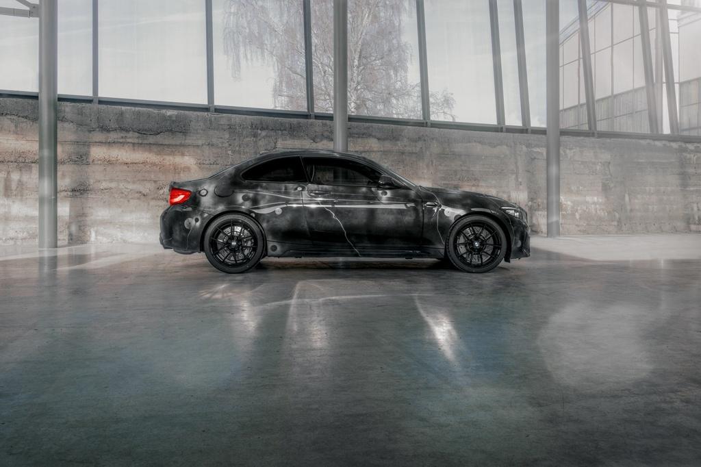 BMW ra mat M2 phien ban ve graffiti anh 11