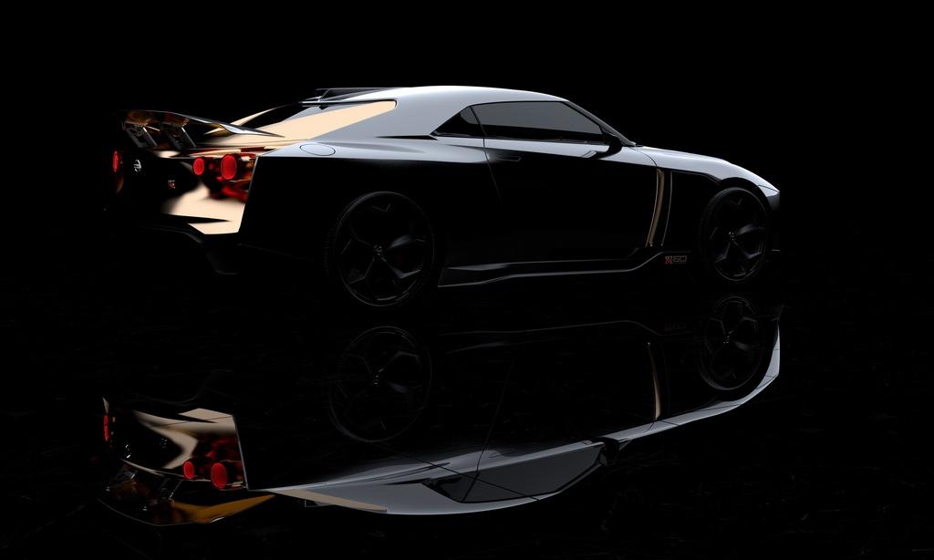 Ban san xuat Nissan GT-R50 ra mat anh 10