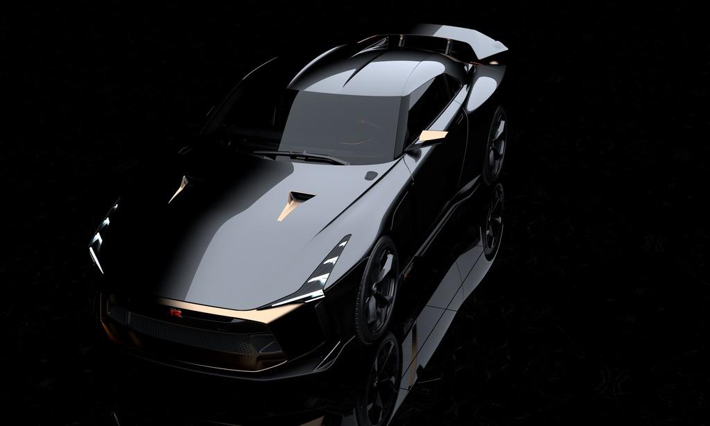 Ban san xuat Nissan GT-R50 ra mat anh 5