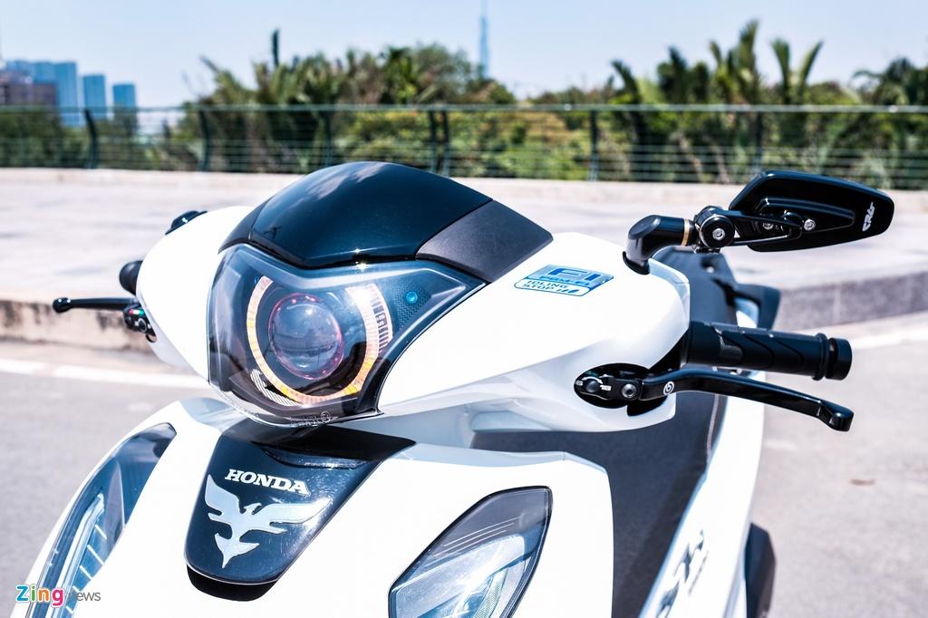 Honda SH 150i do 150 trieu dong cua biker TP.HCM hinh anh 4 DSCF9807_zing.jpg