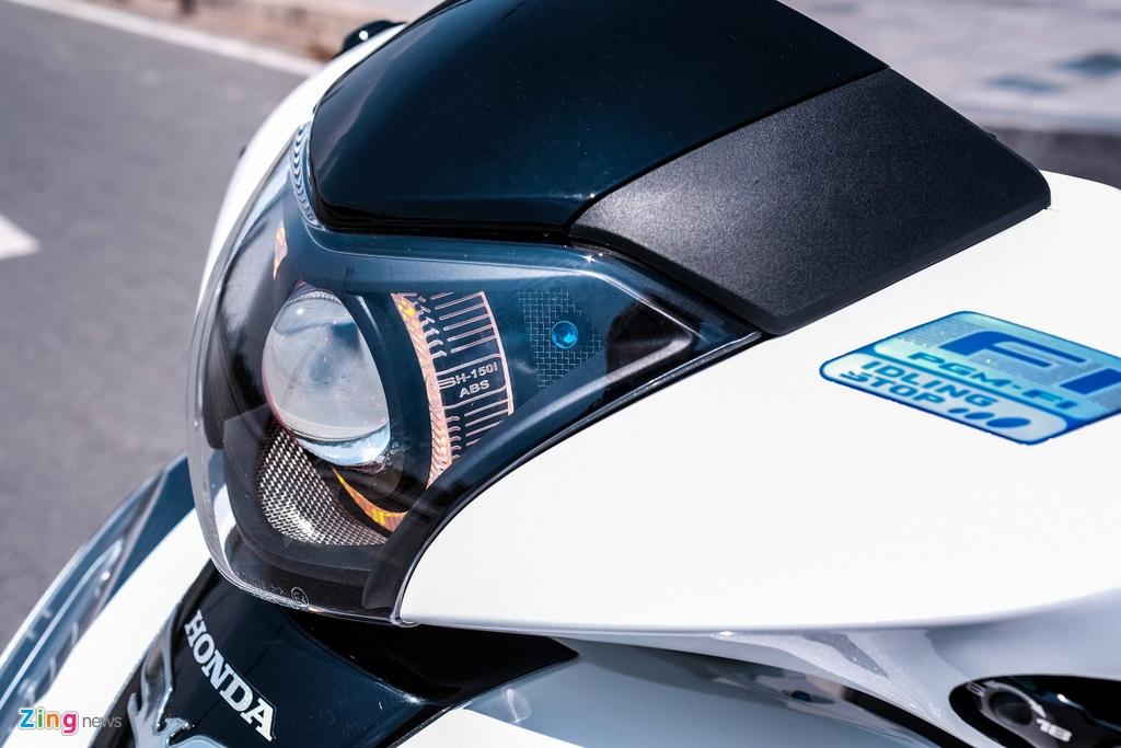 Honda SH 150i do 150 trieu dong cua biker TP.HCM hinh anh 6 DSCF9808_zing.jpg