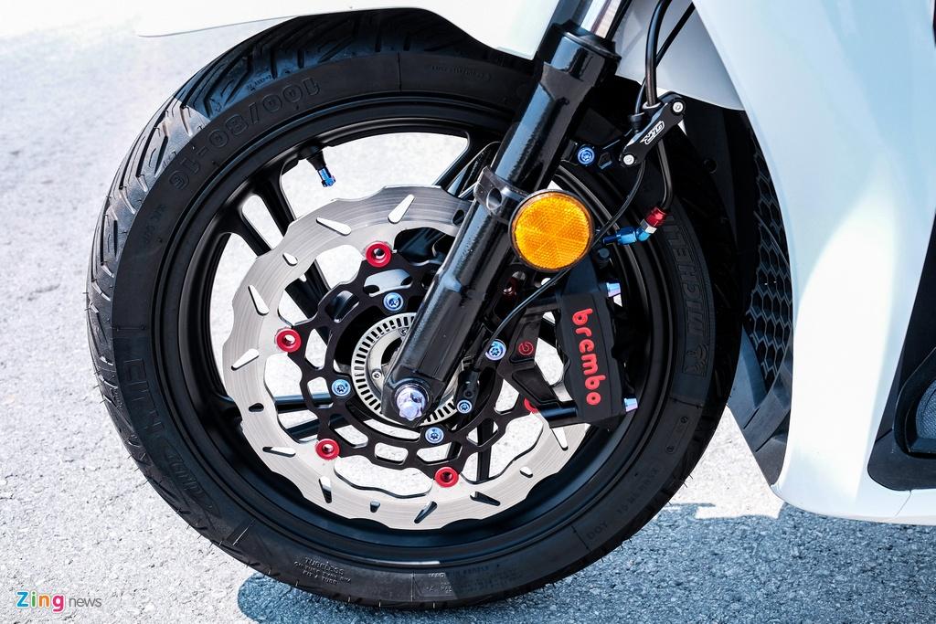 Honda SH 150i do 150 trieu dong cua biker TP.HCM hinh anh 7 DSCF9813_zing.jpg