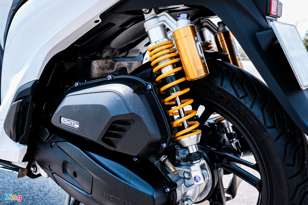 Honda SH 150i do 150 trieu dong cua biker TP.HCM hinh anh 9 DSCF9815_zing.jpg