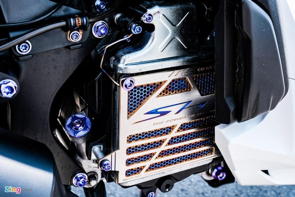 Honda SH 150i do 150 trieu dong cua biker TP.HCM hinh anh 10 DSCF9818_zing.jpg