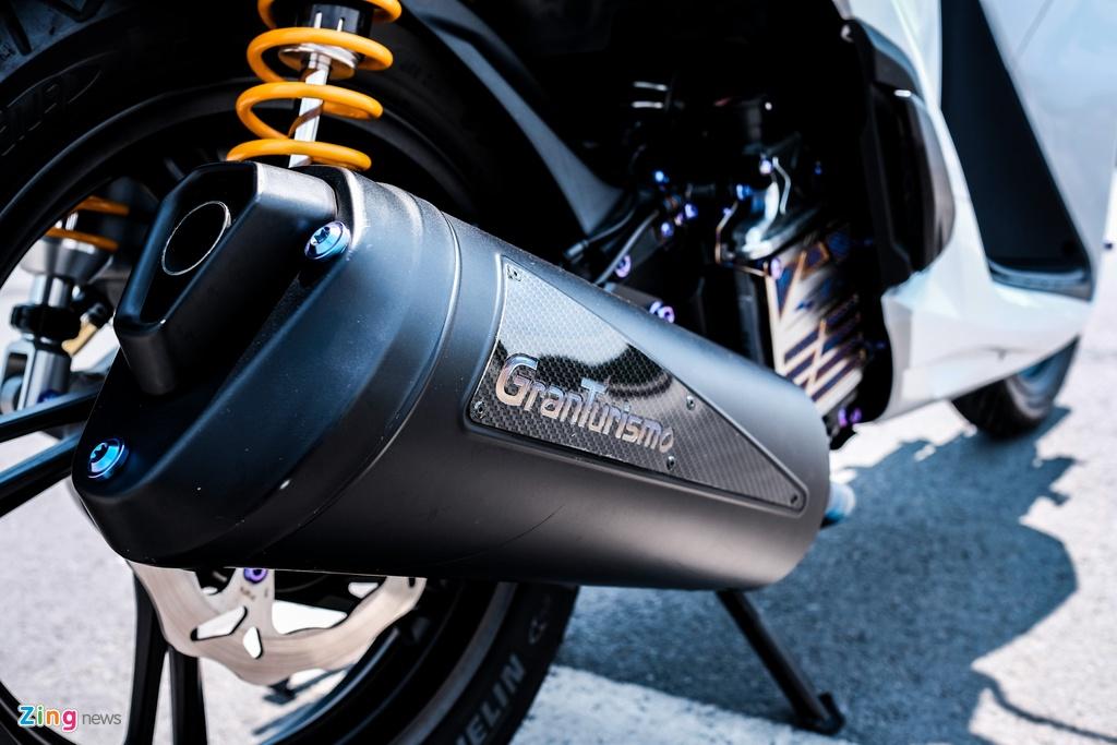 Honda SH 150i do 150 trieu dong cua biker TP.HCM hinh anh 11 DSCF9822_zing.jpg