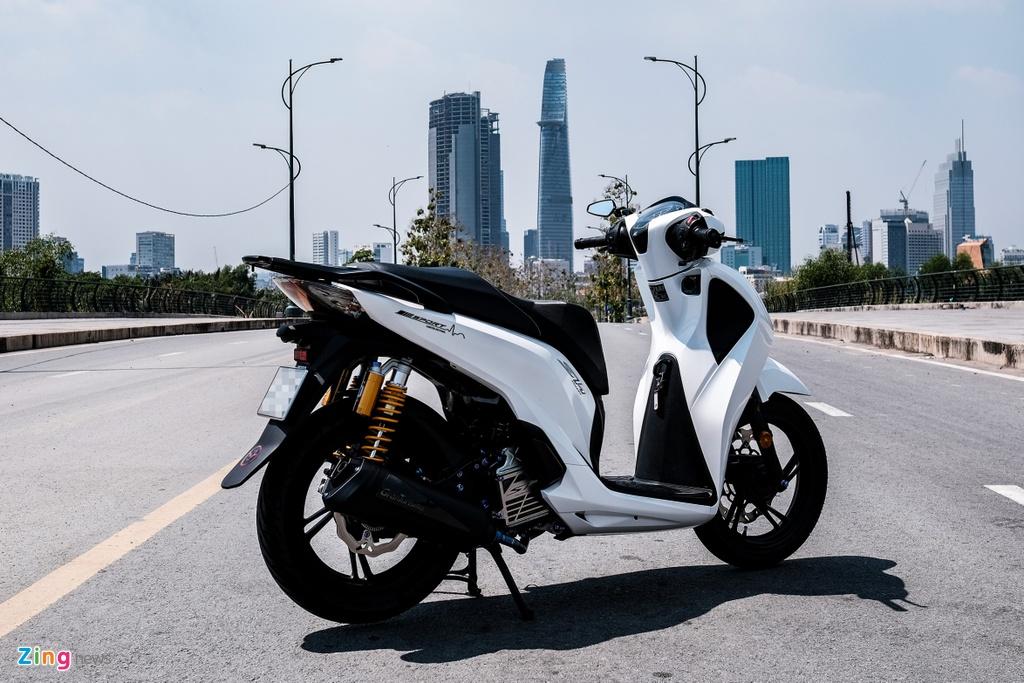 Honda SH 150i do 150 trieu dong cua biker TP.HCM hinh anh 3 DSCF9834_zing.jpg