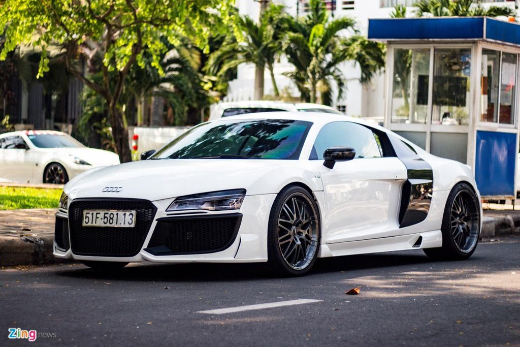 Audi R8 doi cu hoa phien ban V10 voi goi do ngoai that ham ho o TP.HCM hinh anh 1 IMG_9330_zing.jpg