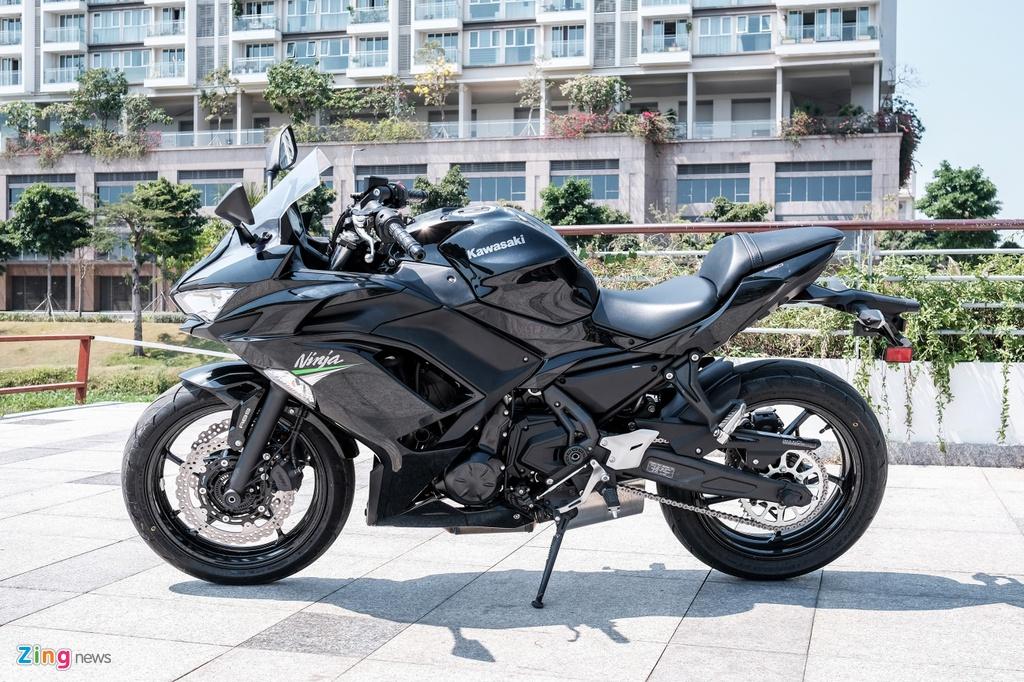 Kawasaki Ninja 650 2020 gia 197 trieu dong tai Viet Nam hinh anh 2 DSCF0278_zing.jpg