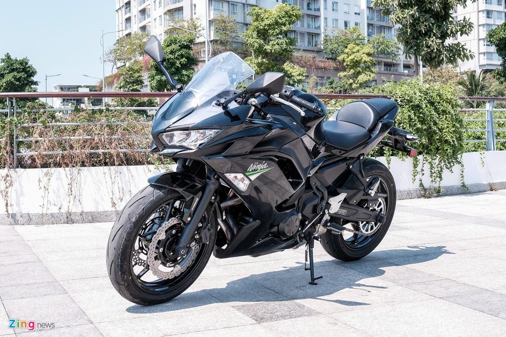 Kawasaki Ninja 650 2020 gia 197 trieu dong tai Viet Nam hinh anh 1 DSCF0285_zing.jpg