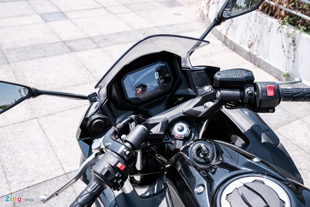 Kawasaki Ninja 650 2020 gia 197 trieu dong tai Viet Nam hinh anh 11 DSCF0290_zing.jpg