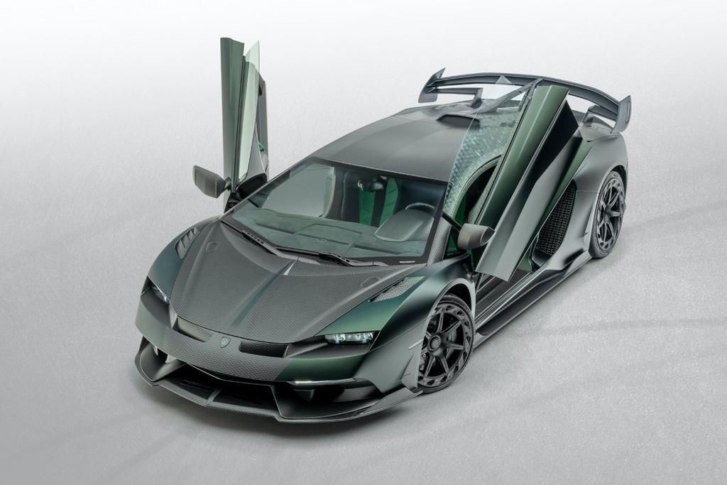 Lamborghini Aventador SVJ bien hinh trong ban do rieng tu Mansory hinh anh 12 Mansory_Cabrera_based_on_Lamborghini_Aventador_SVJ_6.jpg