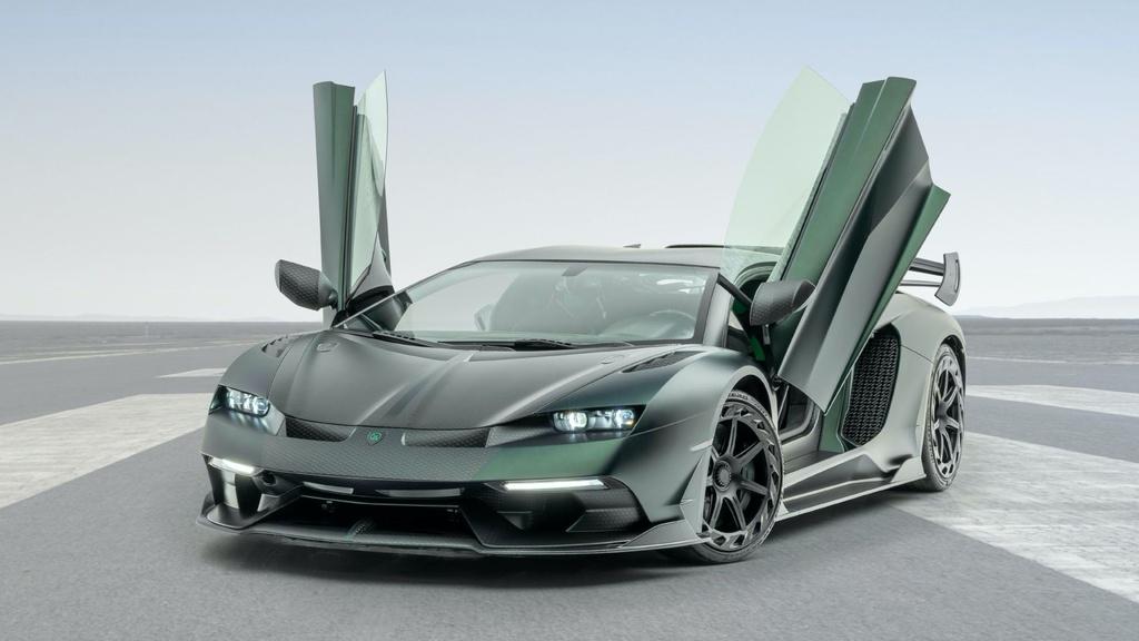 Lamborghini Aventador SVJ bien hinh trong ban do rieng tu Mansory hinh anh 4 Mansory_Cabrera_based_on_Lamborghini_Aventador_SVJ_9.jpg
