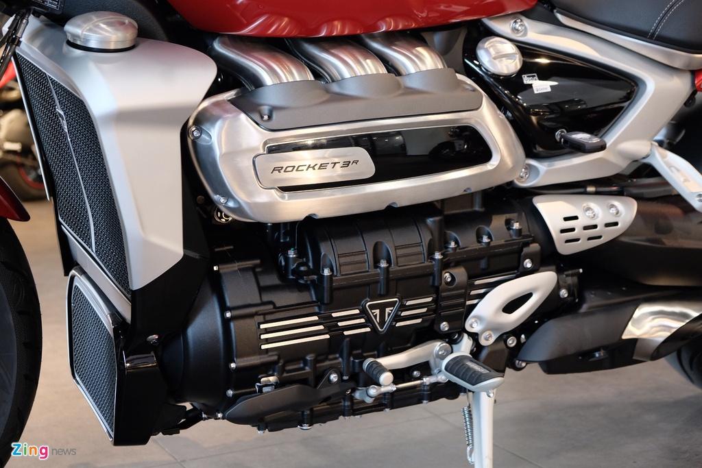 Triumph Rocket 3 ra mat VN anh 13