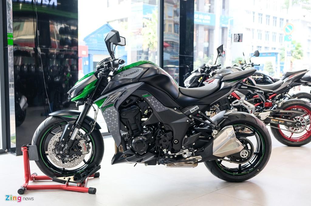 Kawasaki Z1000 2020 tai VN - gia tang, ngoai hinh khong doi hinh anh 17 DSCF1366_zing.jpg