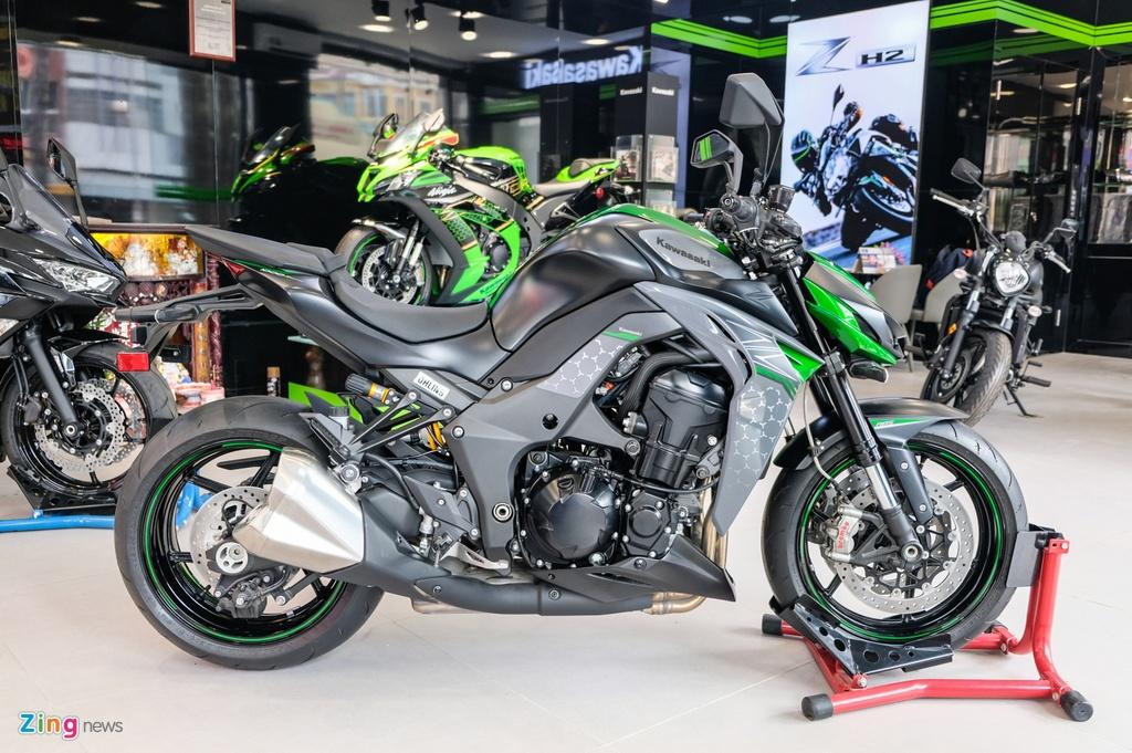 So sanh Kawasaki Z1000 R va Honda CB1000R anh 7