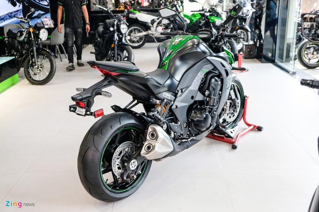 So sanh Kawasaki Z1000 R va Honda CB1000R anh 3