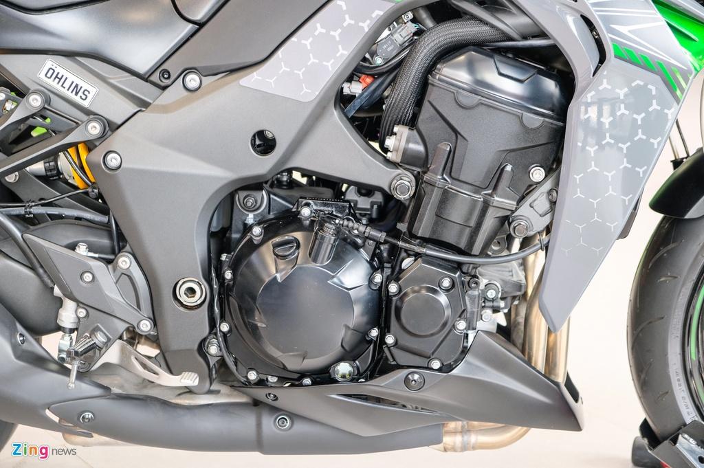 So sanh Kawasaki Z1000 R va Honda CB1000R anh 15