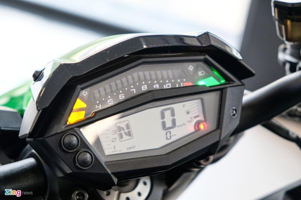 So sanh Kawasaki Z1000 R va Honda CB1000R anh 11