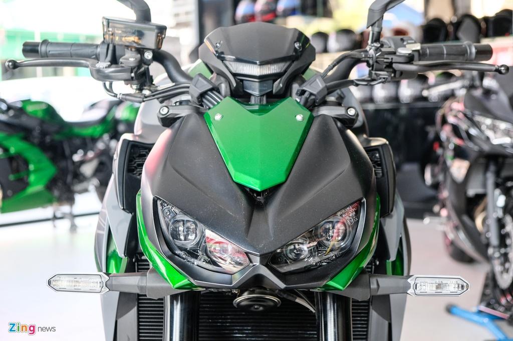So sanh Kawasaki Z1000 R va Honda CB1000R anh 13
