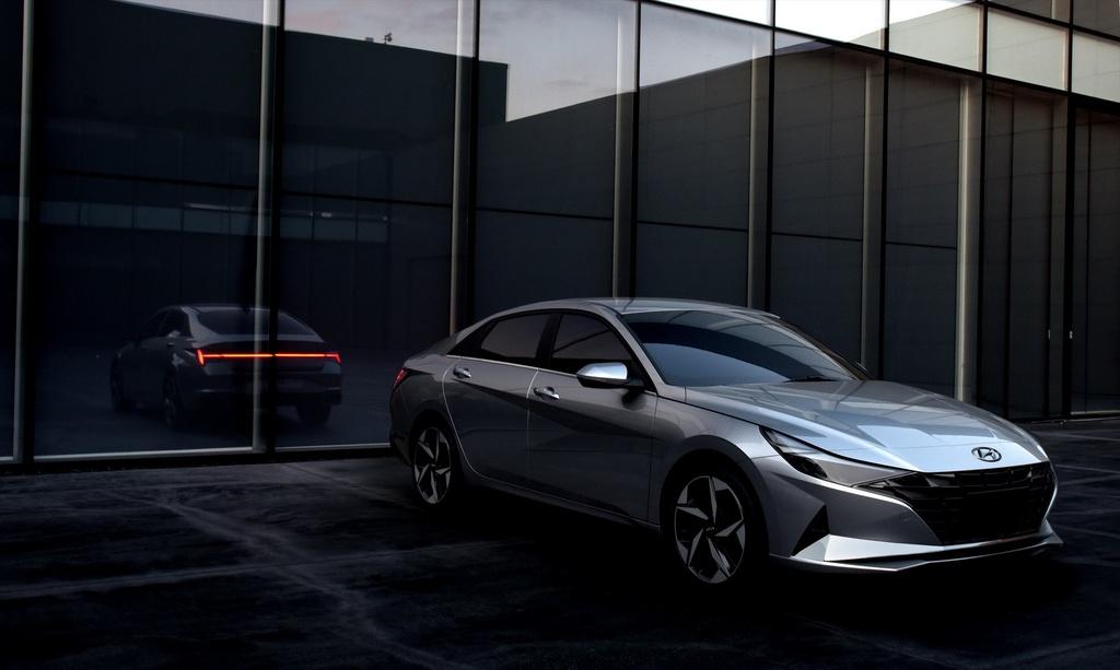 Hyundai Elantra 2021 ra mat, Mazda3 nen e de hinh anh 9 2021_Hyundai_Elantra_13.jpg