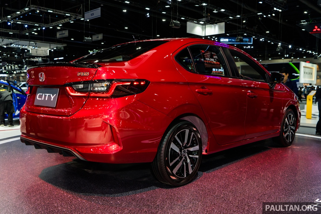 Honda City 2020 co 6 phien ban tai An Do anh 5