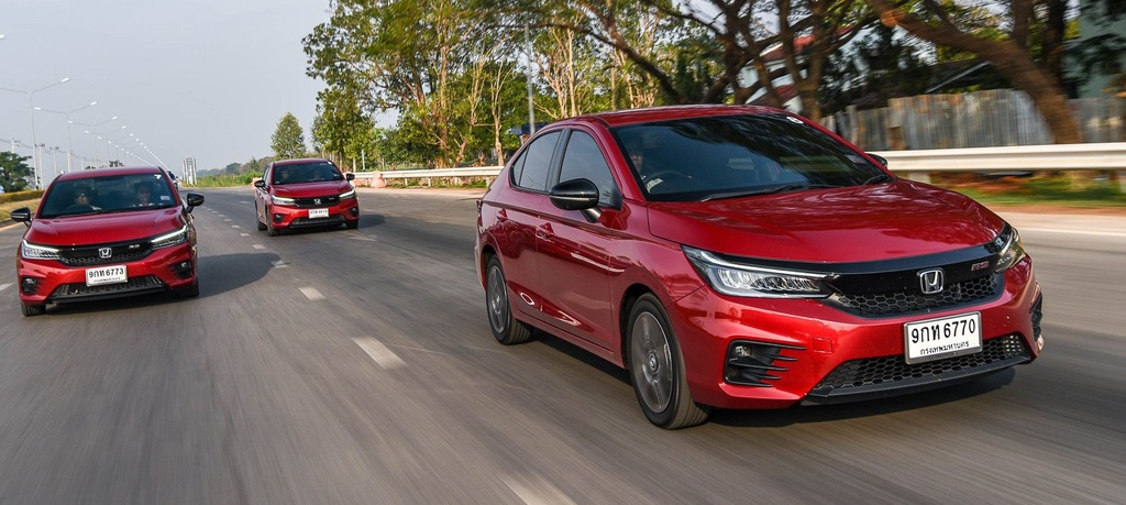 Honda City 2020 co 6 phien ban tai An Do anh 1