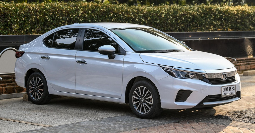 Honda City 2020 co 6 phien ban tai An Do anh 2
