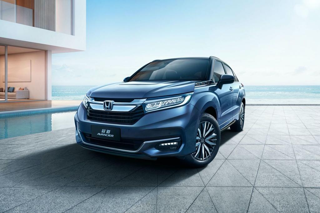 Honda Avancier 2020 ra mat - dan anh cua CR-V hinh anh 1 2020_Honda_Avancier_China_spec_1_1.jpg