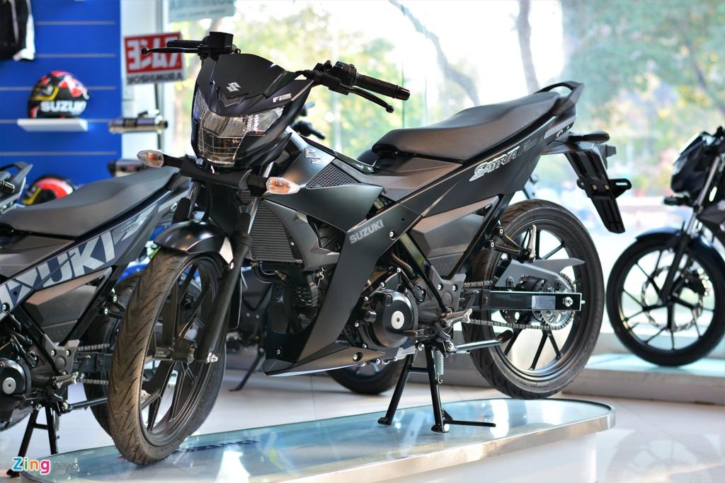 Suzuki phan phoi Satria chinh hang anh 1