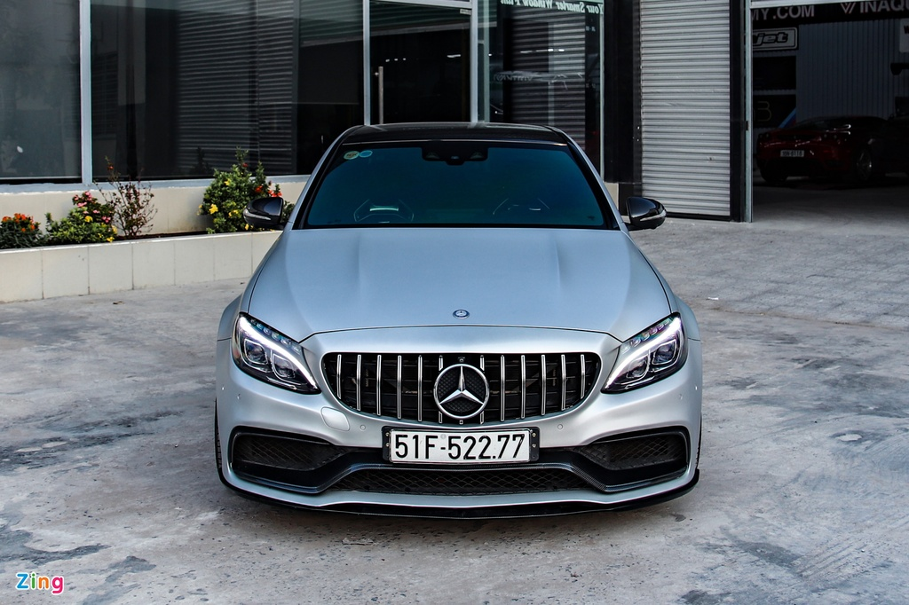 Mercedes-AMG C 63 S tung cua Cuong Do La anh 4