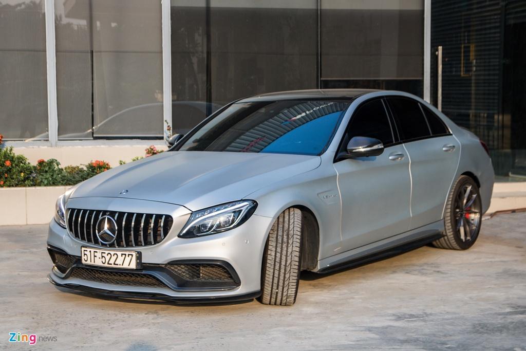 Mercedes-AMG C 63 S tung cua Cuong Do La anh 2