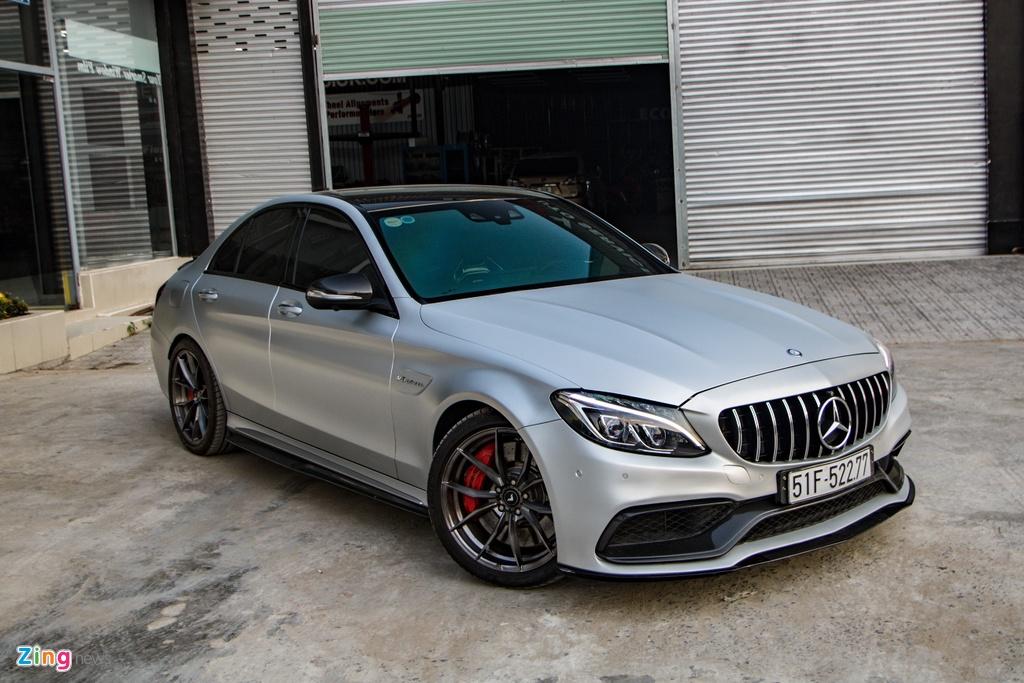 Mercedes-AMG C 63 S tung cua Cuong Do La anh 1