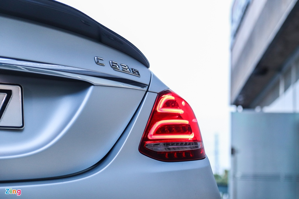 Mercedes-AMG C 63 S tung cua Cuong Do La anh 3