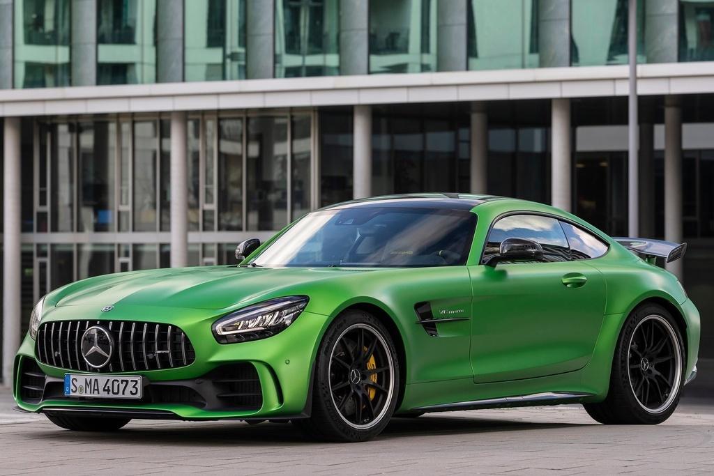 Mercedes-AMG GT R vua ra mat VN anh 1