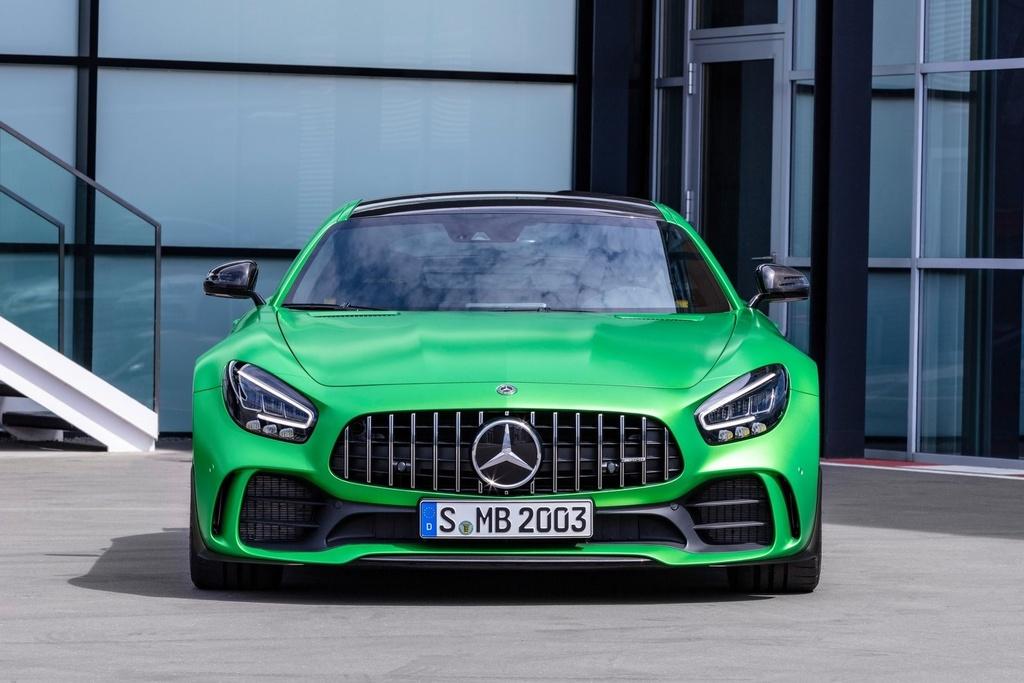 Mercedes-AMG GT R vua ra mat VN anh 3