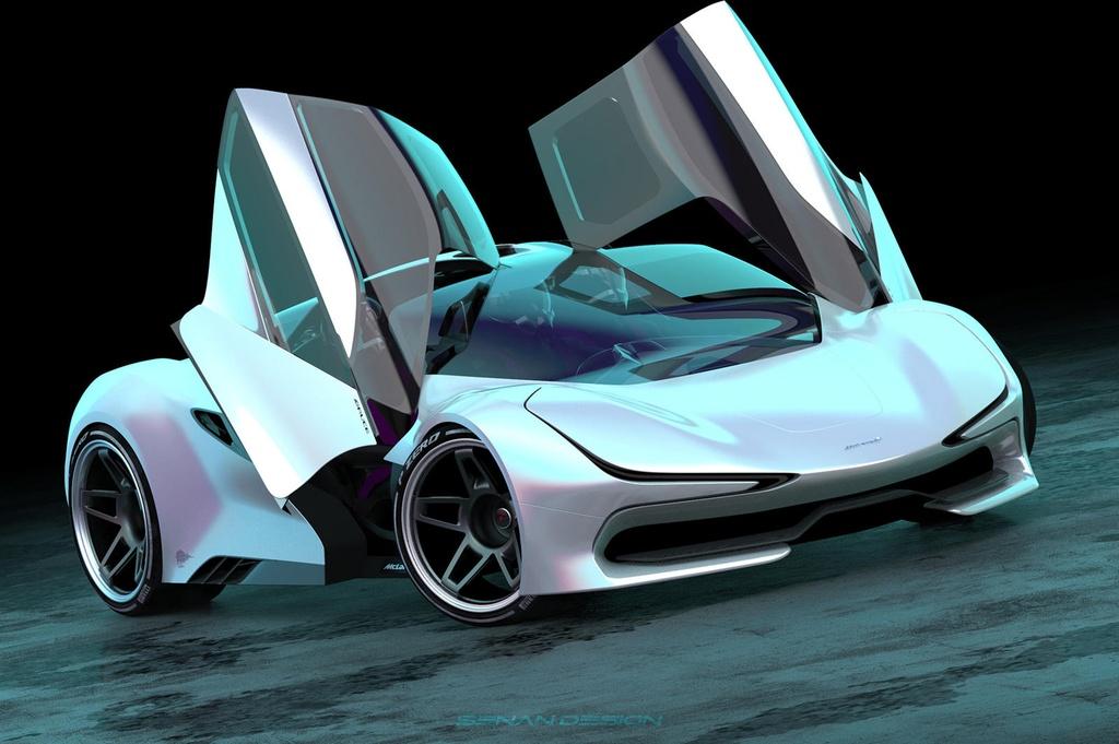 Sieu xe ke nhiem cua McLaren F1 anh 1