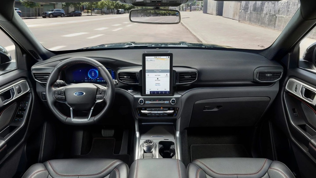 Ford Explorer Plug-in Hybrid ra mat anh 6