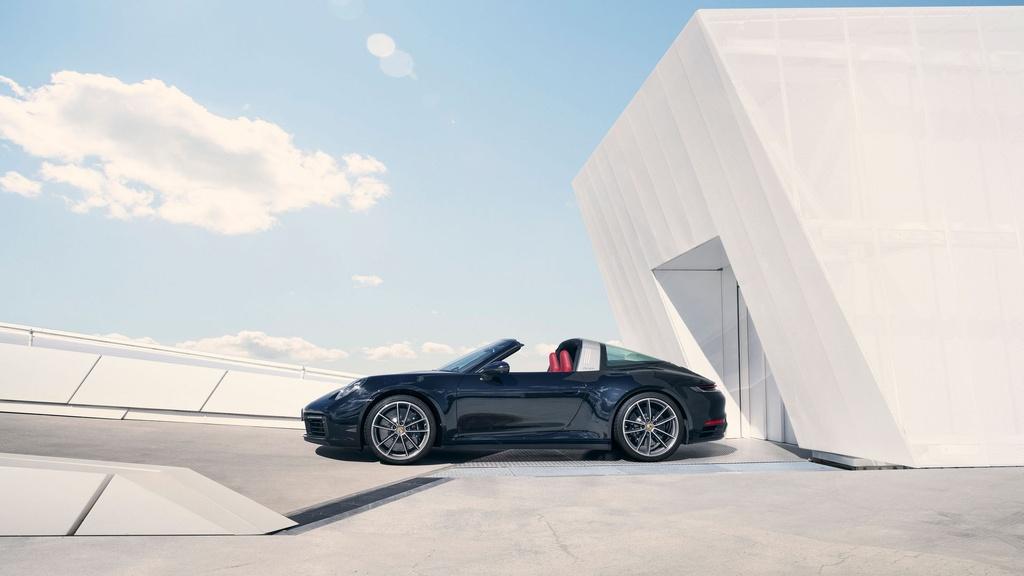 Porsche 911 Targa 2021 ra mat anh 5