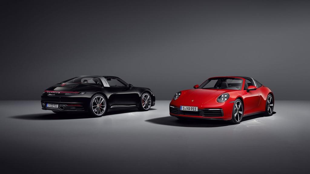 Porsche 911 Targa 2021 ra mat anh 1