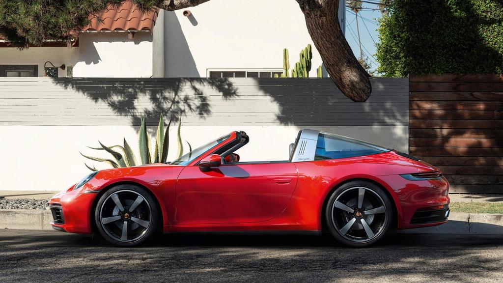 Porsche 911 Targa 2021 ra mat anh 8
