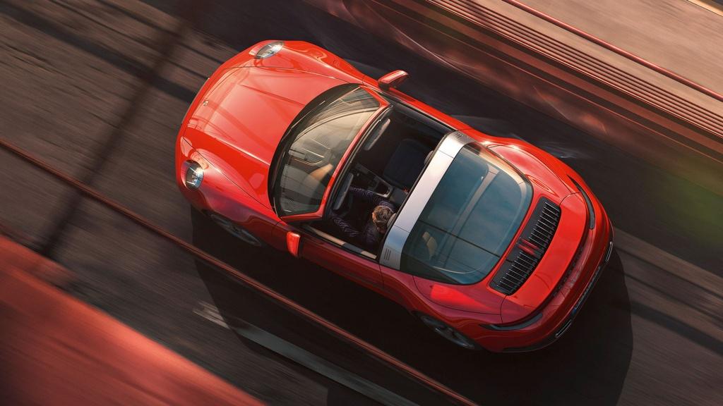 Porsche 911 Targa 2021 ra mat anh 7