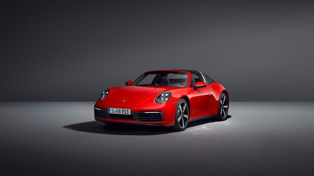 Porsche 911 Targa 2021 ra mat anh 9