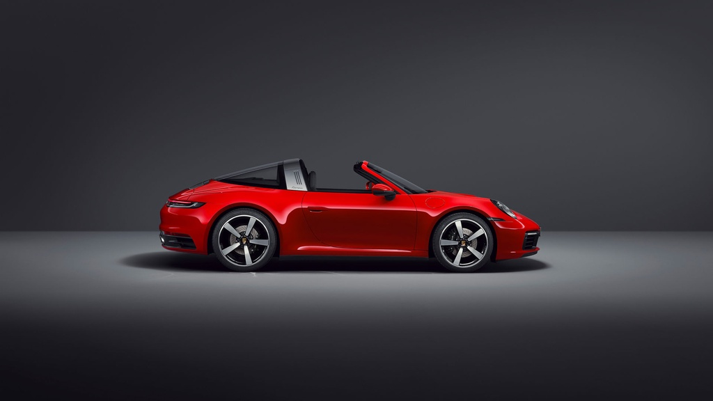 Porsche 911 Targa 2021 ra mat anh 11