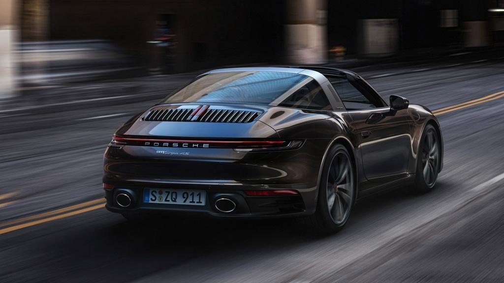 Porsche 911 Targa 2021 ra mat anh 6