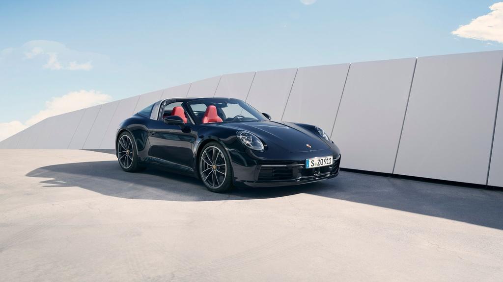 Porsche 911 Targa 2021 ra mat anh 3